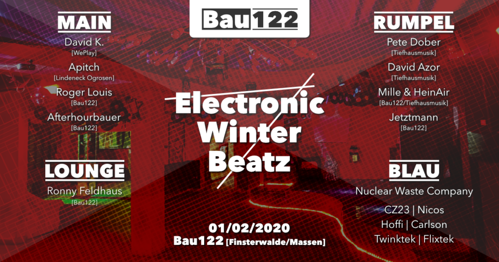 01.02.2020 - Electronic Winter Beatz