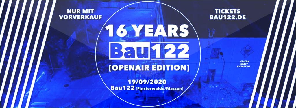Bau122 OpenAir 19.09.2020